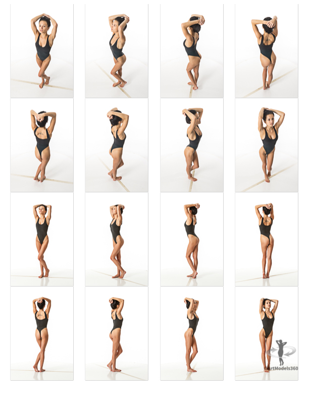ArtModel360 grid view