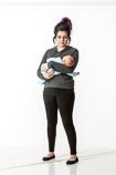 360 degree art reference photos of a new mother nursing her infant in posed for painters and sculptors and art students