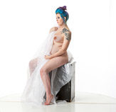 360 degree nude art reference photos of a pregnant female posed for painters and sculptors